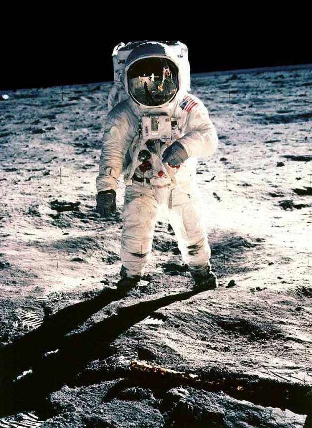 Buzz Aldrin copyright NASA
