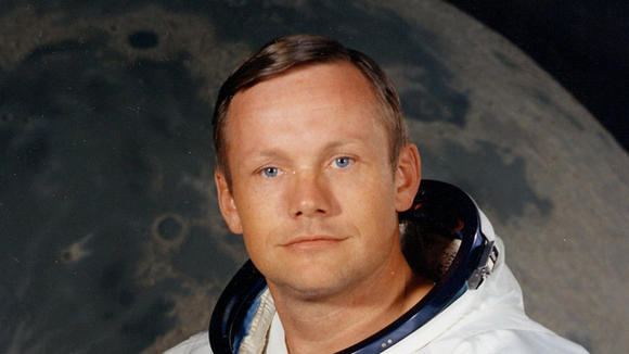 Neil Armstrong copyright NASA