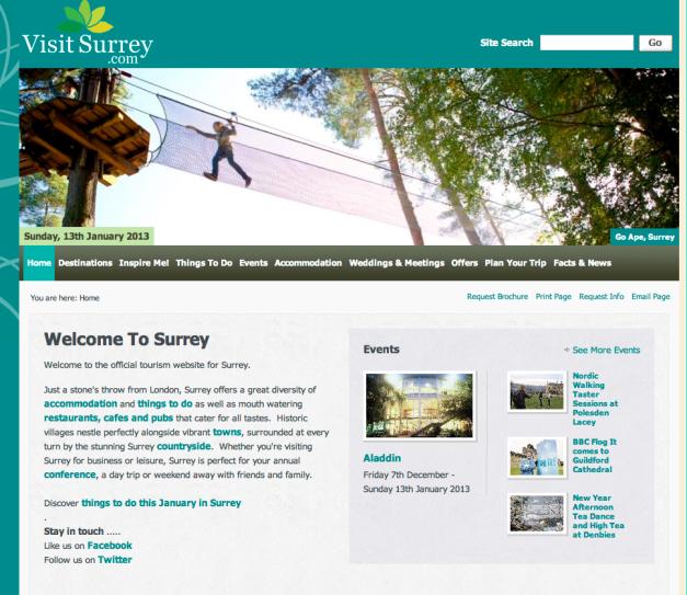 Surrey Website